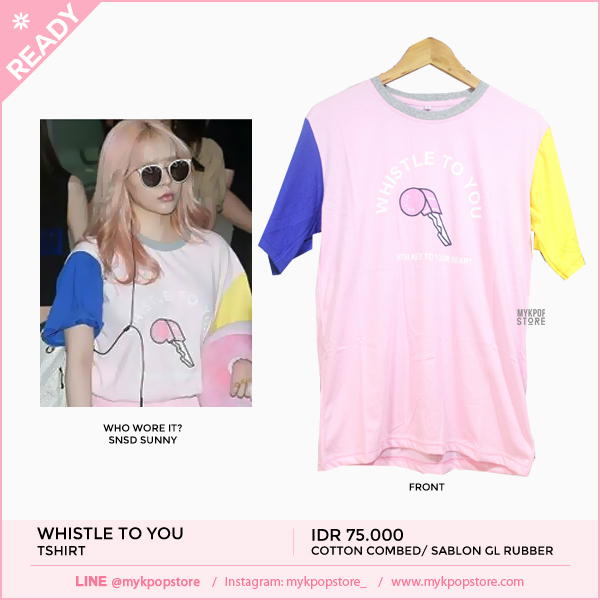 SNSD Sunny Whistle to you Tshirt