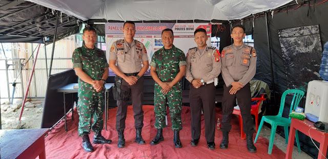 Jelang Hari Raya Natal dan Tahun Baru, TNI Polri di Bone Kompak Lakukan Pengamanan Bersama