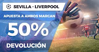 Paston Promoción Champions League: Sevilla vs Liverpool 21 noviembre