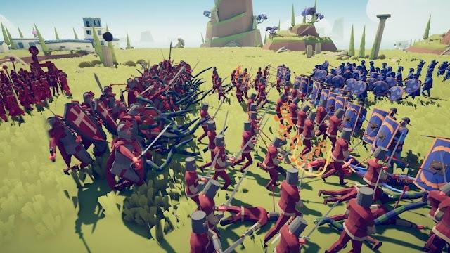 Imagem do Totally Accurate Battle Simulator