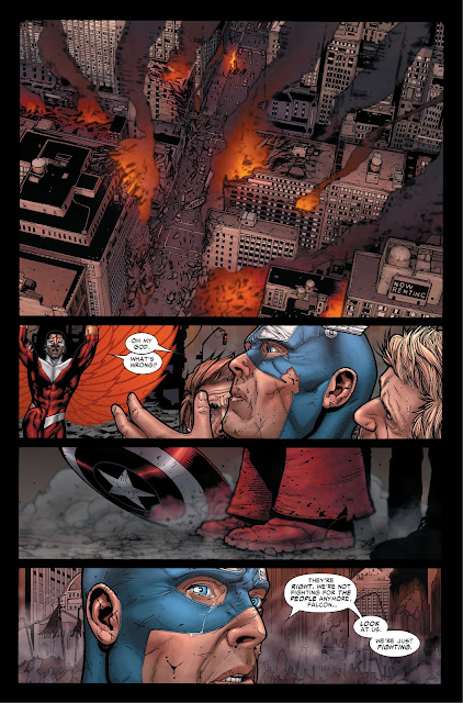 Captain America realizes that he was wrong in Civil War