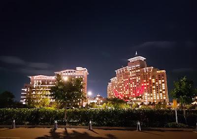 Baha Mar hotel at night