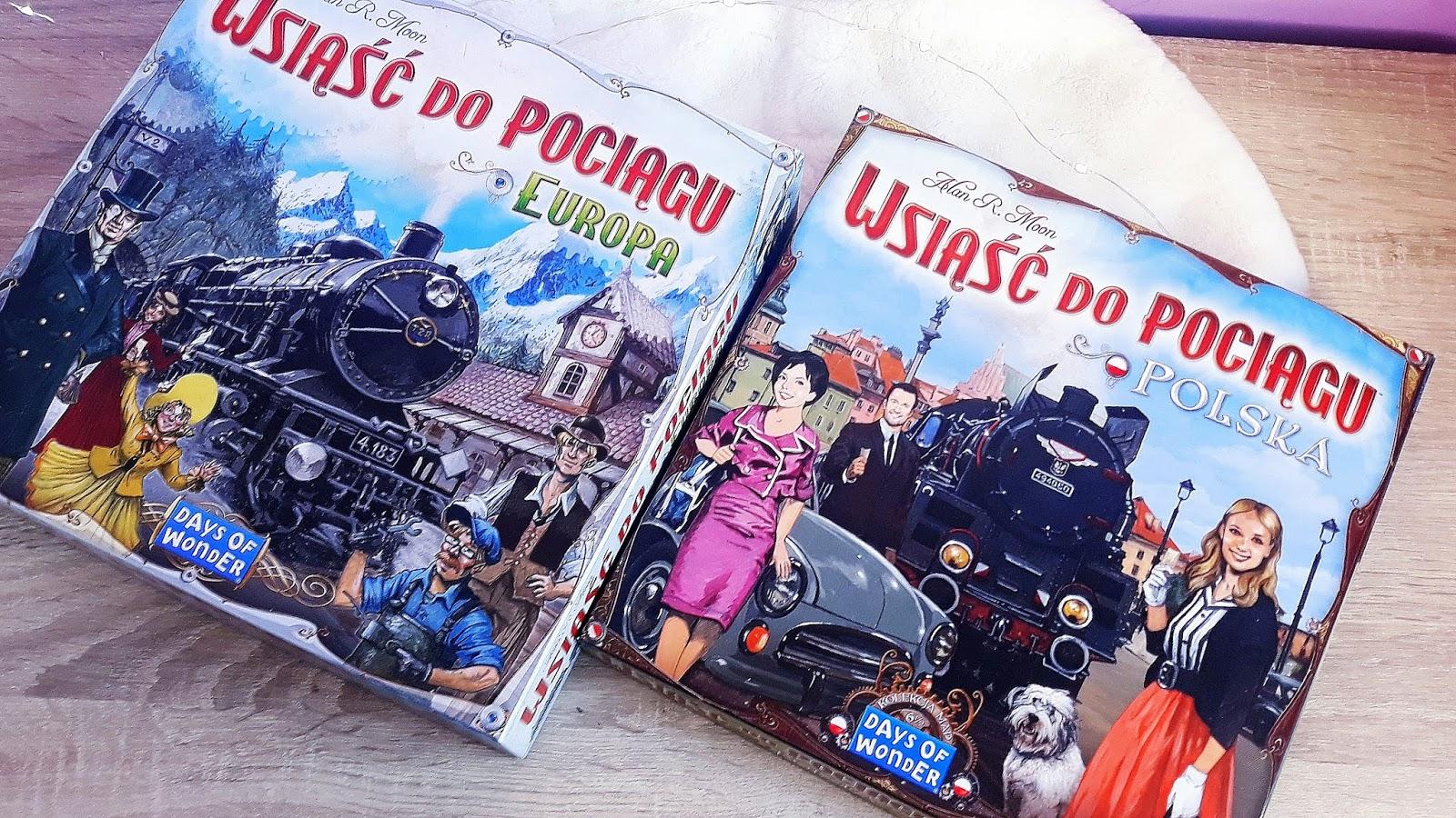 Wsiąść do pociągu Polska/ Europa