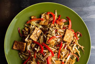 Healthy Stir Fry Recipe #tofu #stirfry