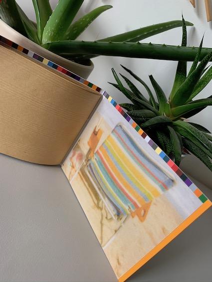carnet papier recyclé fait-main
