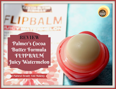 Review of Palmer's Cocoa Butter Formula Flip Balm Juicy Watermelon