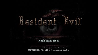 Resident Evil 0 HD Remaster Việt hóa