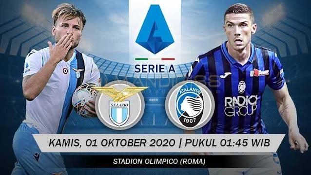 Prediksi Lazio Vs Atalanta, Kamis 01 Oktober 2020 Pukul 01.45 WIB