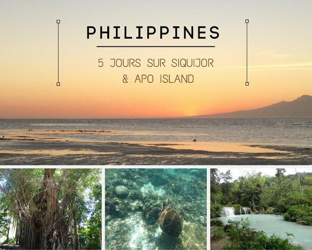 PHILIPPINES : 5 jours à Siquijor : visites, plages et excursion à Apo Island pour nager avec les tortues ... ! www.by-laura.fr