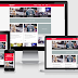 Gravity Responsive Blogger Template Idntheme (Arlina Design)