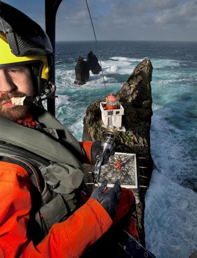 El faro de Tridrangar Islandia