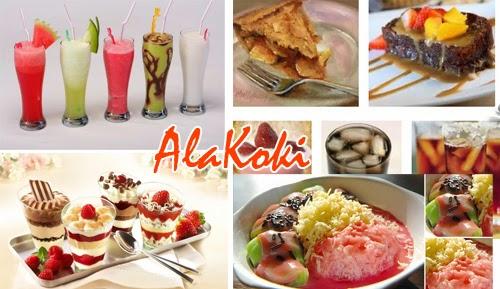 Kumpulan Resep Makanan Pencuci Mulut atau Dessert Resep Dessert dan Minuman