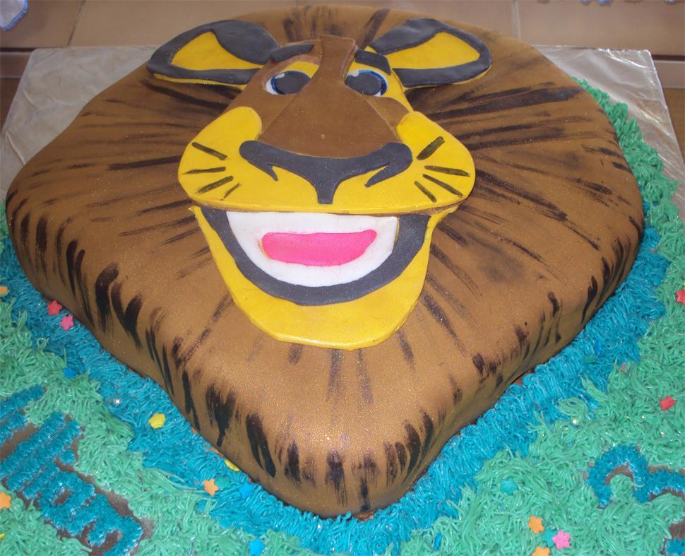 Delana S Cakes Alex The Lion Madagascar