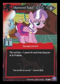 My Little Pony Diamond Tiara The Crystal Games CCG Card