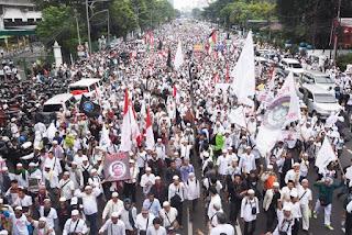 demo terbesar sejak reformasi