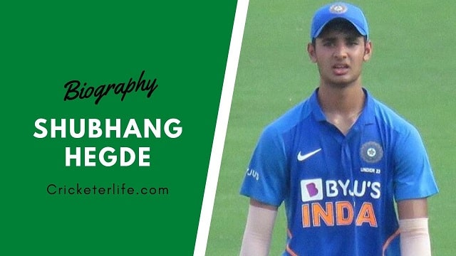 Shubhang Hegde bowling, IPL, family, height, Stats, Age, etc.