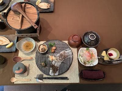 船山温泉の朝食