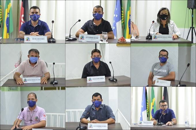 Em Sessão Extraordinária, Vereadores Amparenses aprovaram LDO 2021