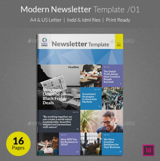 33. Modern Newsletter Template v01