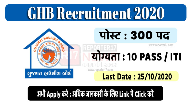 ghb recruitment 2020