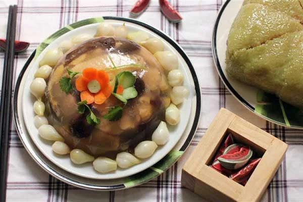 Công thức thịt đông: Món ăn không thể thiếu ngày Tết