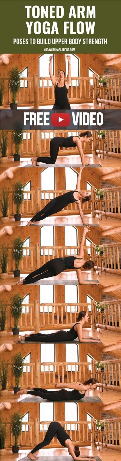 Upper Body Toning Yoga Flow