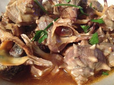 Canaíllas (canadillas o caracoles de mar) - Receta canaíllas - Receta - El gastrónomo - ÁlvaroGP