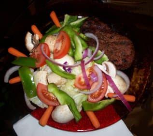 Filet Mignon Nutrition Fresh Veggie Salad