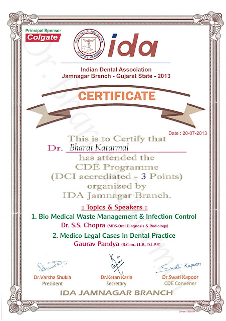 Biomedical Waste Management and Infection Control and Medicolegel cases in Dental Practice