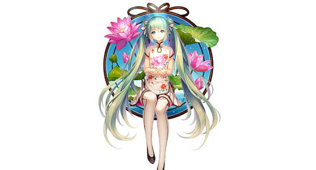 Hatsune Miku v2.0 Wallpaper Engine
