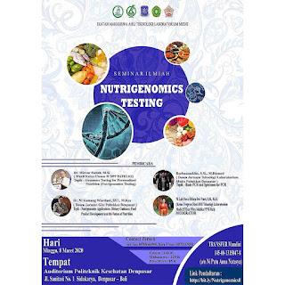 Seminar Ilmiah Dewan Pengurus Wilayah Bali Ikatan Mahasiswa Teknologi Laboratorium Medik Indonesia (DPW IMATELKI BALI) Jilid VIII