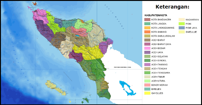 Daftar Kode Pos Di Provinsi Aceh Kode Pos Indonesia