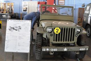 classic WWII era Jeep
