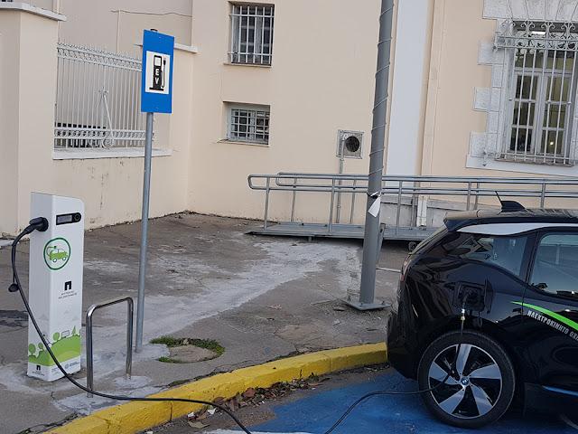 Σταθμοί φόρτισης ηλεκτρικών αυτοκινήτων σε Καλαμάτα, Σπάρτη,  Ναύπλιο και Λουτράκι