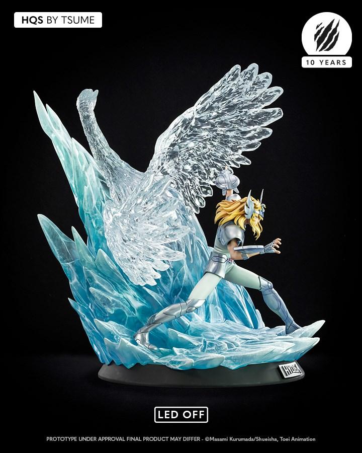 Hyoga del Cisne Saint Seiya