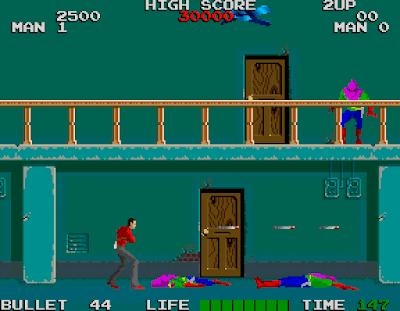 Rolling Thunder - Arcade Namco