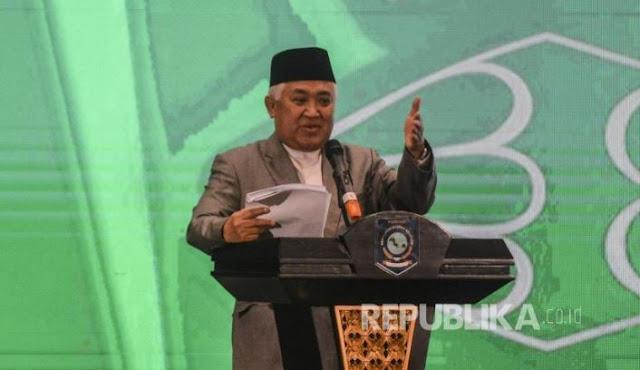 Pemuda Muhammadiyah ke GAR ITB: Jangan Ganggu Pak Din!