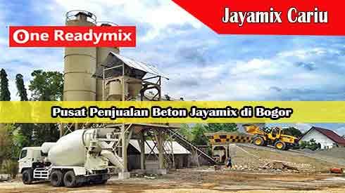 Harga Jayamix Cariu, Jual Beton Jayamix Cariu, Harga Beton Jayamix Cariu Per Mobil Molen, Harga Beton Cor Jayamix Cariu Per Meter Kubik Murah Terbaru 2021