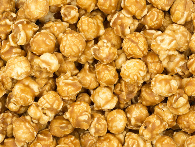 Recipe Green Caramel Popcorn
