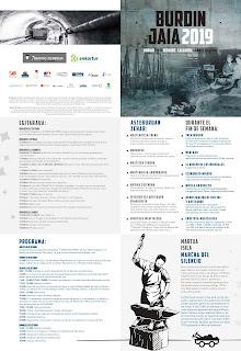 Programa completo Burdin Jaia 2019