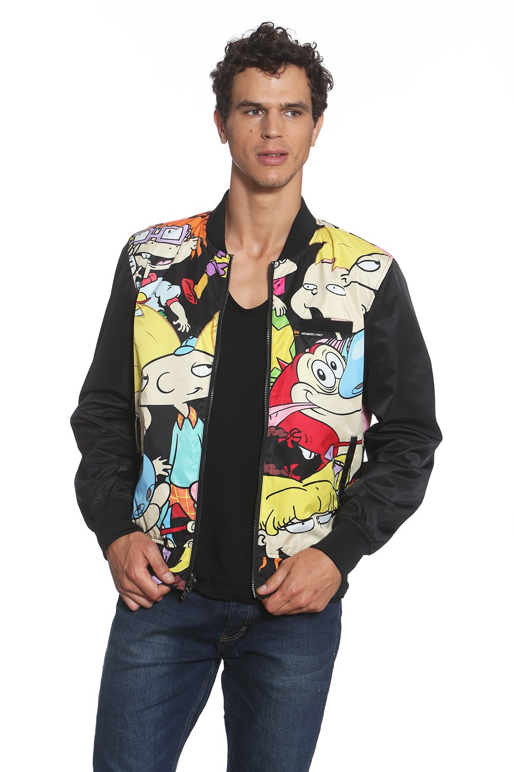 97acc92d7 NickALive!: Members Only Ties Up '90s Nickelodeon-Inspired Outerwear