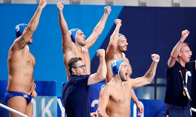 Έλλαδα-Ουγγαρία 9-6: Έγραψε ιστορία η γαλανόλευκη, πέρασε στον τελικό των Ολυμπιακών Αγώνων