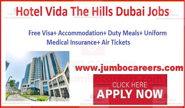 UAE Hotel jobs with salary and benefits,