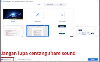 Cara Mengatasi Share Screen Tidak Keluar Suaranya di Zoom Meeting
