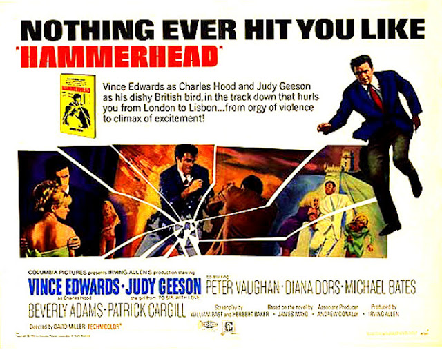 Quentin Tarantino's Swinging Sixties - Hammerhead Film Poster - David Miller, 1968