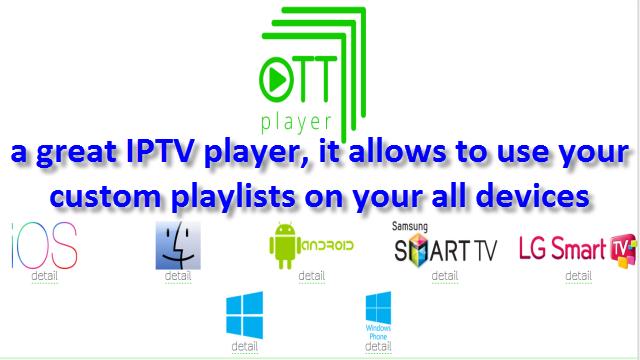 Ott Player Ios