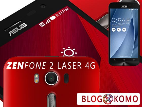 Spesifikasi dan Harga Zenfone 2 Laser 4G Seri ZE500KL