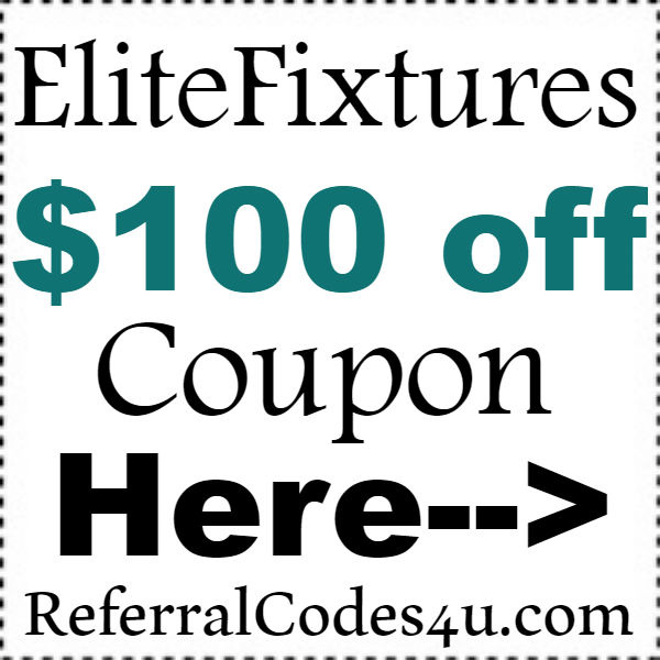 EliteFixtures Coupon Codes 2016-2017, EliteFixtures Promo Codes Free Shipping October, November, December