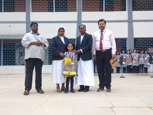 नेशनल साइंस ओलम्पियाड 2019 अवार्ड में सेंट अर्नोलड विद्यालय मेघनगर का नाम रोशन | National science Olympiads 2019 award main saint arnold vidhyalay