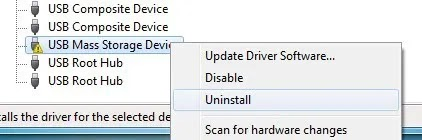 Unknown usb Device